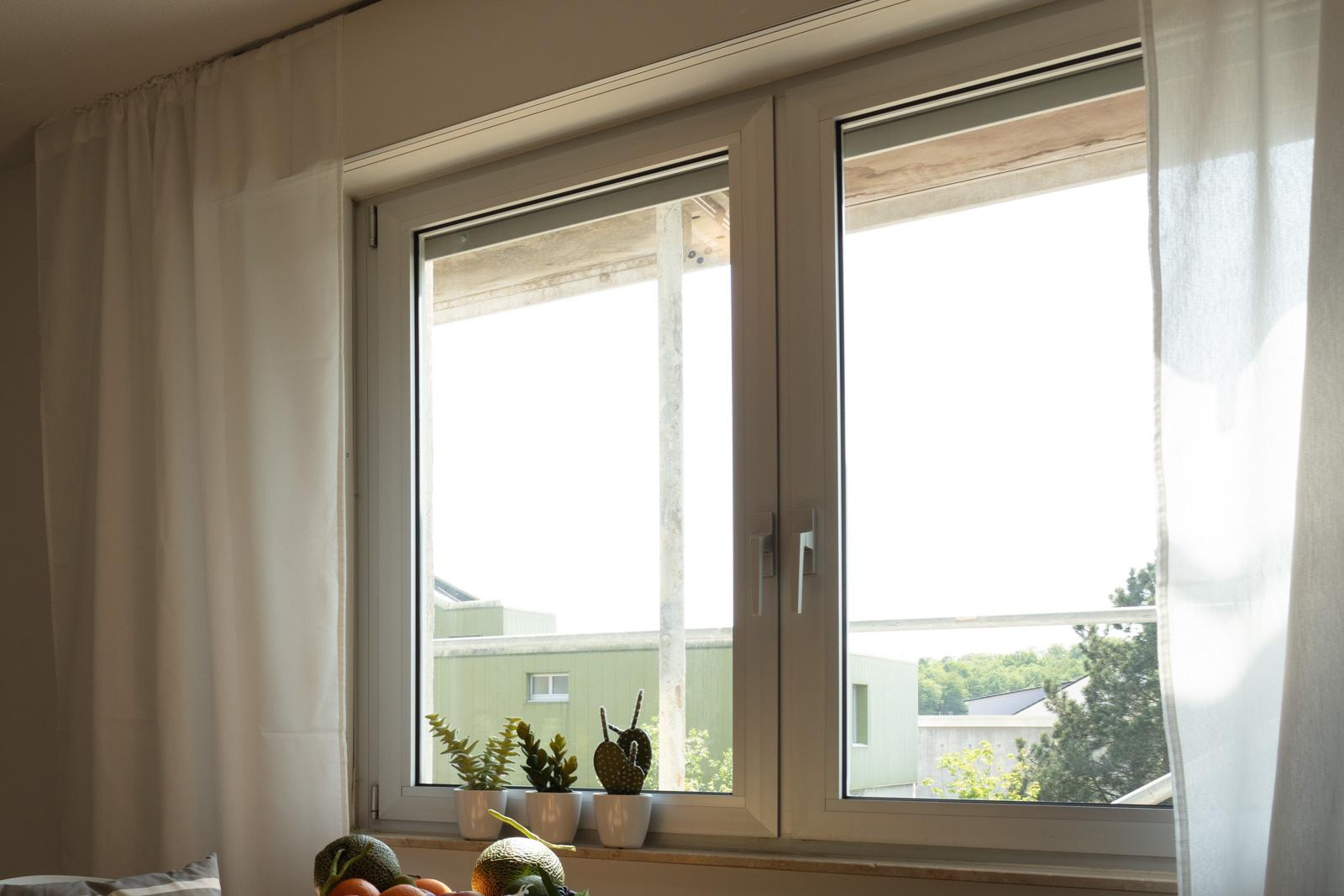 Vergrößerung Fensterbereich